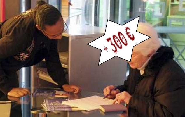300 euros pour les seniors