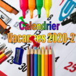 calendrier vacances 2020-21